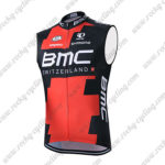 2015 Team BMC Cycling Sleeveless Vest Tank Top Red Black