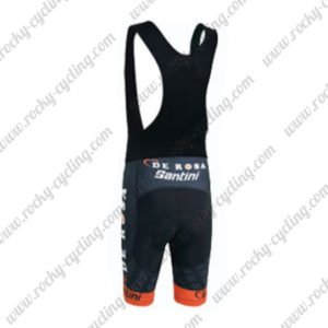 2015 Team DE ROSA Santini Cycling Black Bib Shorts2015 Team DE ROSA Santini Cycling Black Bib Shorts