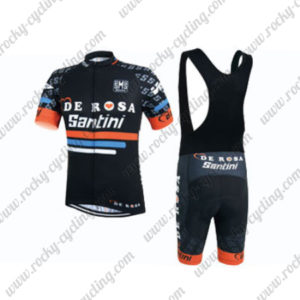 2015 Team DE ROSA Santini Riding Bib Kit