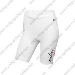 2015 Team Nalini Women's Lady Cycling Shorts Bottoms White