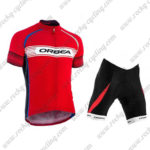 2015 Team ORBEA Biking Kit Red White