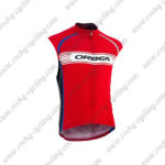 2015 Team ORBEA Biking Sleeveless Vest Red White