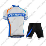 2015 Team ORBEA Cycle Kit White Blue