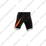 2015 Team ORBEA Cycle Shorts Bottoms Black Orange
