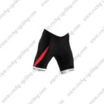 2015 Team ORBEA Cycle Shorts Bottoms Black Red