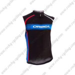 2015 Team ORBEA Cycle Sleeveless Vest Black Blue