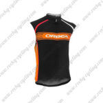 2015 Team ORBEA Cycle Sleeveless Vest Black Orange