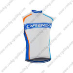 2015 Team ORBEA Cycle Sleeveless Vest White Blue