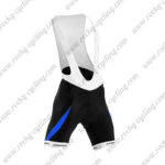 2015 Team ORBEA Cycling Bib Shorts Bottoms Black Blue