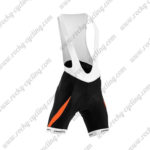2015 Team ORBEA Cycling Bib Shorts Bottoms Black Orange