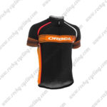 2015 Team ORBEA Cycling Jersey Maillot Shirt Black Orange