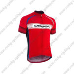 2015 Team ORBEA Cycling Jersey Maillot Shirt Red White