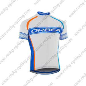 2015 Team ORBEA Cycling Jersey Maillot Shirt White Blue
