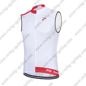 2015 Team PINARELLO Cycling Sleeveless Vest Tank Top White Red
