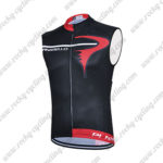 2015 Team PINARELLO Riding Sleeveless Vest Tank Top Black Red