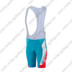 2015 Team SCOTT Women's Lady Cycling Bib Shorts Bottoms Blue White Red