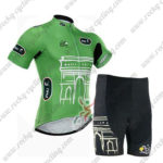 2015 Team Tour de France Cycling Kit Green