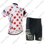 2015 Team Tour de France Cycling Kit Polka Dot