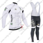 2015 Team Tour de France Cycling Long Bib Suit White