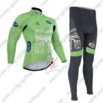 2015 Team Tour de France Cycling Long Suit Green