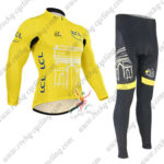 2015 Team Tour de France Cycling Long Suit Yellow