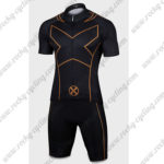 2015 X-Men Cycling Kit Black