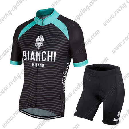 925ff4af64 2016 Team BIANCHI MILANO Cycle Wear Riding Jersey and Padded Shorts ...