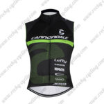 2016 Team Cannondale Cycle Sleeveless Vest Tank Top Black Green