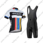 2016 Team GIANT Cycling Bib Kit Colorful Lines