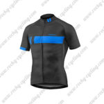 2016 Team GIANT Riding Jersey Maillot Shirt Black Blue