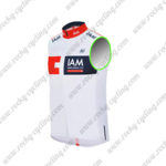 2016 Team IAM Cycle Sleeveless Vest Tank Top White Red Blue