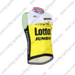 2016 Team LOTTO JUMBO Cycle Sleeveless Vest Tank Top White Yellow