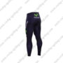 2016 Team Movistar Biking Long Pants Tights Blue
