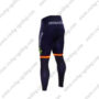 2016 Team Movistar Spain Bike Riding Long Pants Tights Blue