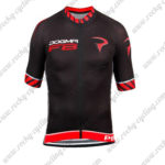 2016 Team PINARELLO DOGMA F8 Cycling Jersey Maillot Shirt Black Red