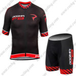 2016 Team PINARELLO DOGMA F8 Cycling Kit Black Red