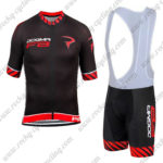 2016 Team PINARELLO DOGMA F8 Riding Bib Kit Black Red