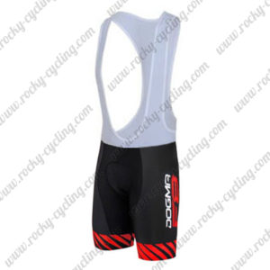 2016 Team PINARELLO DOGMA F8 Riding Bib Shorts Bottoms Black Red