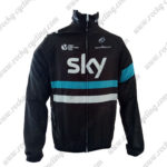 2016 Team SKY Cycling Raincoat Wind-proof Black Blue
