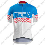 2016 Team TREK BONTRAGER Cycle Jersey Maillot Shirt Blue Red White