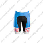 2016 Team TREK BONTRAGER Cycle Shorts Bottoms Blue Red White