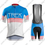 2016 Team TREK Cycling Bib Kit Blue Red White