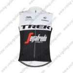 2016 Team TREK Segafredo Riding Sleeveless Vest Tank Top White Black