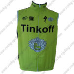 2016 Team Tinkoff Cycling Vest Sleeveless Waistcoat Rain-proof Windbreak Green