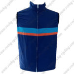2017 Cycling Vest Sleeveless Waistcoat Rain-proof Windbreak Blue