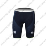 2017 Team BAHRAIN MERIDA Cycle Bib Shorts Bottoms Blue