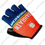 2017 Team BAHRAIN MERIDA Cycling Gloves Red Blue