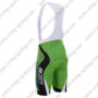 2017 Team BARDIANI CSF Racing Bib Shorts Bottoms Green Black