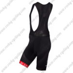 2017 Team BORA ARGON 18 Riding Bib Shorts Bottoms Black