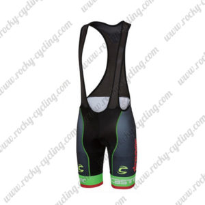 2017 Team Cannondale drapac Cycle Bib Shorts Botoms Black Green